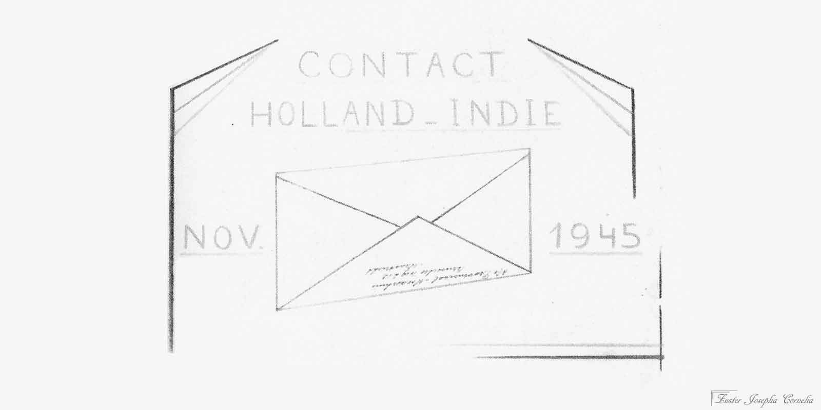Contact Holland-Indië – November 1945